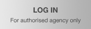 Log in for authorized agency only